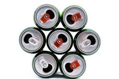 чонсервные банкы пива Стоковые Фото
