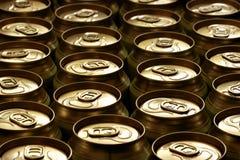 чонсервные банкы пива Стоковая Фотография RF