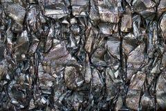 чонсервные банкы рециркулируя олово стоковое изображение rf