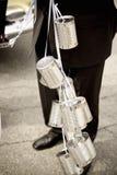 чонсервные банкы wedding стоковые фотографии rf