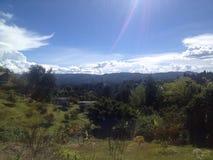чолумбийский ландшафт Стоковые Изображения RF