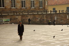 чолумбийский человек стоковая фотография rf