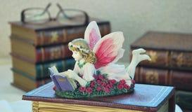 чтение книги fairy Стоковые Фото