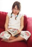 чтение кровати Стоковое Изображение RF