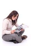 чтение стоковые изображения