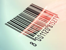 чтение barcode иллюстрация вектора