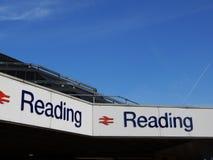 Чтение Sttaion стоковая фотография rf