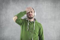 Что плохая музыка стоковое изображение rf