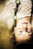 чувственная женщина воды стоковая фотография