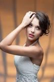 Чувственная молодая женщина Стоковые Фото