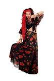 Чувственная цыганская женщина стоковые изображения rf