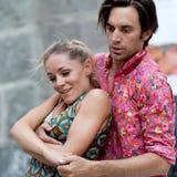 Чувственные пары танцоров. стоковая фотография rf