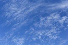 чувствительные белые облака Стоковое Изображение RF