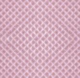 Чувствительный розовый сладостный waffle - романтичная безшовная предпосылка Стоковое Изображение