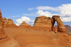 Чувствительный свод вероятно самый известный свод в мире Utha, США стоковое фото