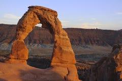 Чувствительный свод вероятно самый известный свод в мире Utha, США стоковое изображение