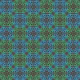 Чувствительная безшовная картина Родной стиль шнурка Предпосылка вектора Стоковое фото RF