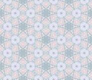 Чувствительная геометрическая безшовная картина Предпосылка вектора Стоковые Изображения