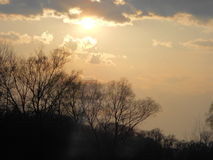 чувствительное небо Стоковое Изображение RF