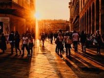 Чувствовать улицы Стоковое Фото