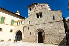 Чудесная средневековая церковь Стоковое Изображение