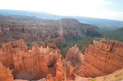 Чудесные образования Hodes в каньоне Bryce геология Путешествия Природа стоковое фото