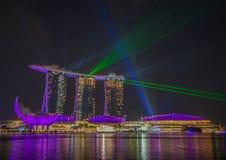 Чудесные пески гостиница залива Марины, Сингапур стоковое фото