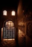 Чудесный свет внутри Torre de Cemares Стоковое Фото