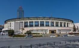 Чудесный стадион BeÅŸiktaÅŸ, Стамбул стоковое изображение