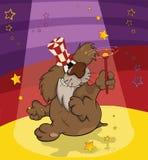 чудодей собаки клоуна шаржа бесплатная иллюстрация