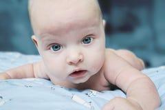 чужеземец как космос индиго младенца Стоковое фото RF