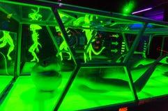 Чужеземцы в игровой комнате Стоковые Изображения RF