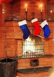 чулки рождества стоковое изображение rf