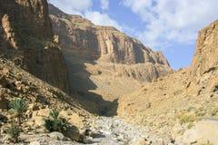 Чуть-чуть гора атласа в Марокко Стоковые Фотографии RF