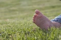 чуть-чуть нога Стоковые Изображения