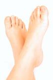 чуть-чуть ноги ребенка Стоковое Изображение