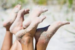 чуть-чуть ноги Стоковое Фото