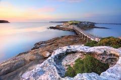Чуть-чуть остров, Австралия стоковые фотографии rf