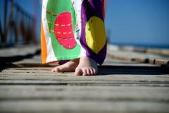 Чуть-чуть foots Стоковое Фото