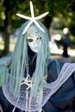 Чучело ведьмы моря на хеллоуин Стоковые Фотографии RF
