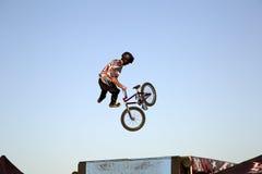 Чудесная конкуренция TX велосипеда BMX Стоковые Фото