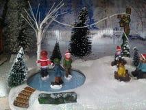 Чудесная сцена рождества Стоковая Фотография