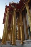 Чудесное буддийское здание в nonthaburi Таиланде wat виска buakwan Стоковая Фотография RF
