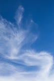 Чудесное облако с небом Стоковые Изображения