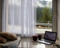 Чудесное утро в горах Стоковые Фотографии RF