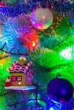 Чудесные игрушки рождества Стоковые Изображения