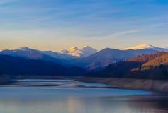 Чудесные румынские горы Стоковая Фотография RF