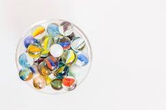 Чудесные стеклянные шарики Стоковое Изображение RF