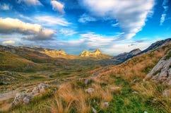 Чудесный взгляд к горам в национальном парке Durmitor Черногория Балканы Европа Прикарпатский, Украина, Европа Стоковые Фотографии RF