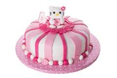 Чудесный декоративный торт для детей Стоковые Изображения